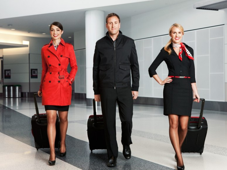 Flight Attendant Uniforms Now With More Style Than Ever